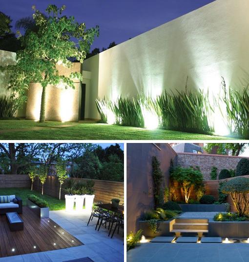 Iluminacion de jardines fotos croquis iluminacion jardin for Luces colgantes para jardin